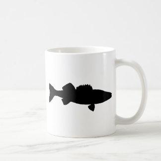 black Walleye Coffee Mug