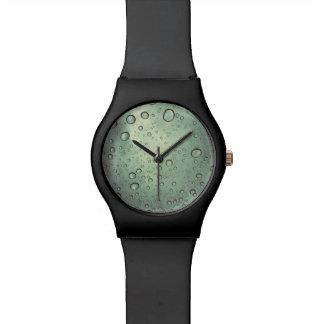 Black watch bubble face