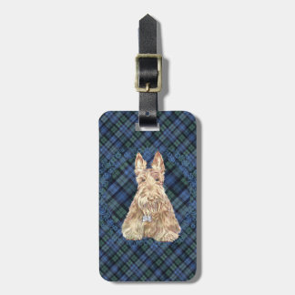 Black Watch Tartan Luggage Tag