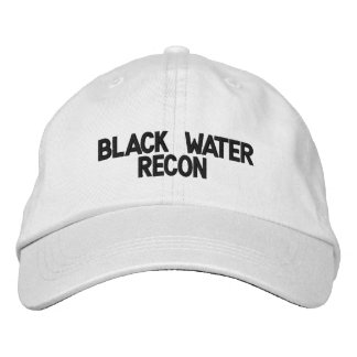 Black Water Recon adjustable Ball Cap Embroidered Hat