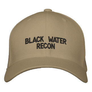 Black Water Recon Custom Baseball Cap