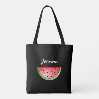 Black Watermelon Cooking Out Personalized Bag
