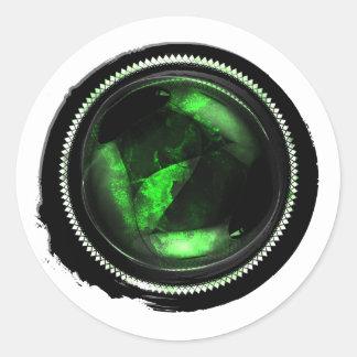 Black Wax Emerald Mystic Opal Crest Seal