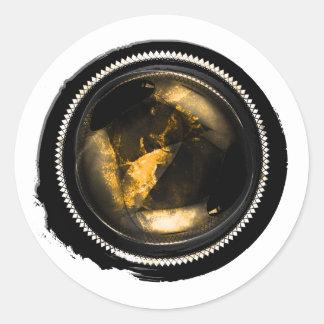 Black Wax Mystic Gold Topaz Opal Crest Seal