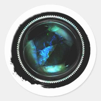 Black Wax Mystic Opal Crest Seal