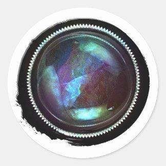 Black Wax Mystic Topaz Opal Crest Seal