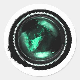 Black Wax Mystic Turquoise Opal Crest Seal