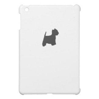 Black Westie Silhouette iPad Mini Case