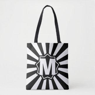 Black Wham Bam Monogram Tote Bag