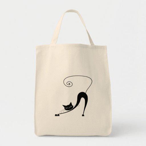 Black Whimsy Kitty 2 Bag