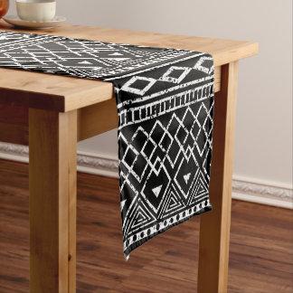 Black White African Tribal Pattern