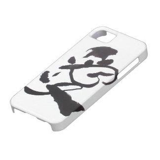 "Black & White ""AI"" iPhone 5 Cover"