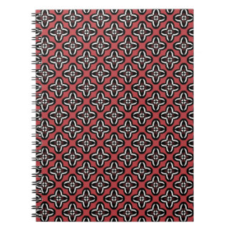 Black White and Red All Under Notebook
