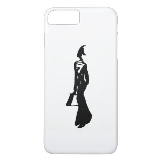 black & white art iPhone 8 plus/7 plus case