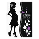 Black & White Baby Shower Invite