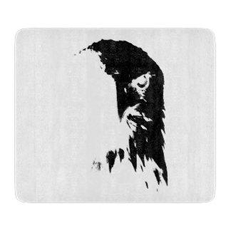 Black & White Bald Eagle Cutting Board