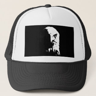 Black & White Bald Eagle Hat