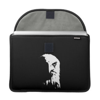 Black & White Bald Eagle Sleeve For MacBooks
