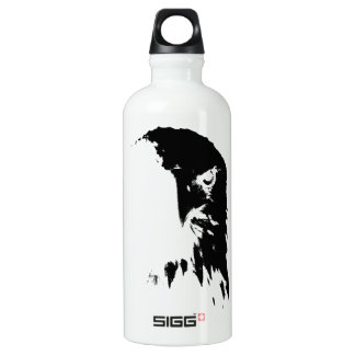 Black & White Bald Eagle Water Bottle