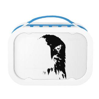 Black & White Bald Eagle Yubo lunchbox