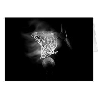 Black & White Basketball Card