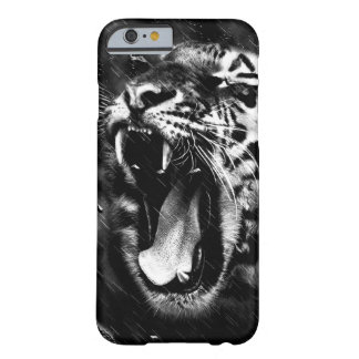 Black & White Beautiful Tiger Head Wildlife Barely There iPhone 6 Case