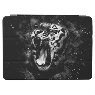 Black & White Beautiful Tiger Head Wildlife iPad Air Cover