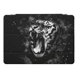 Black & White Beautiful Tiger Head Wildlife iPad Pro Cover