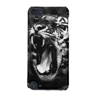 Black & White Beautiful Tiger Head Wildlife iPod Touch (5th Generation) Cover