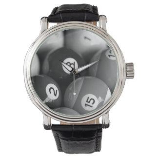 Black & White Billiards Watch