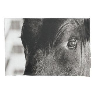 Black & White Bulls Eye Pillow Case