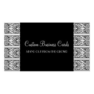 Black & White Double-Sided Standard Business Cards (Pack Of 100)