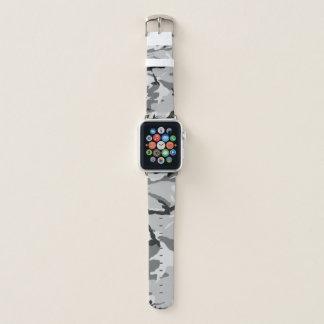 Black&White Camo Apple Watch Band