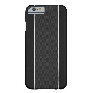 Black & White Carbon Fiber iPhone 6 case Barely There iPhone 6 Case