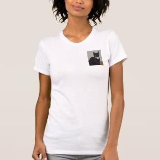 Black & White Cat Shirt