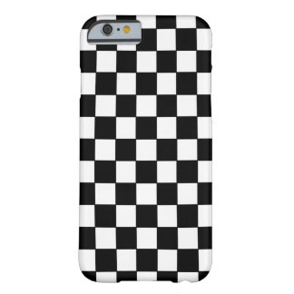 Black White Checked - iPhone 6 case