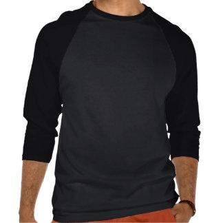 Black & White Chevron with Red Stripe Tshirts