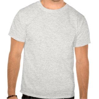 Black White Chevron with Red Stripe Tee Shirts