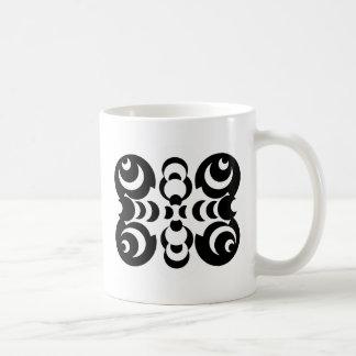 Black & White Circles Mug