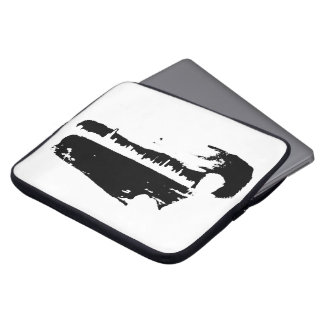 Black & White City Lookout - Laptop Sleeve