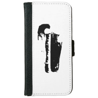 Black & White City Lookout - Wallet Case