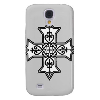 Black & White Coptic Cross iPhone 3G/3GS Speck Cas Samsung Galaxy S4 Cases