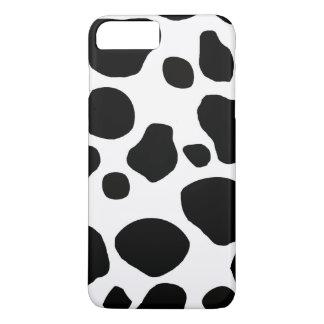 Black White Cow Spots iPhone 7 Plus Case