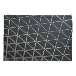 Black & White Cube Pattern Pillowcase