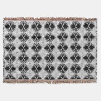 Black & White Custom Throw Rug For Your Home