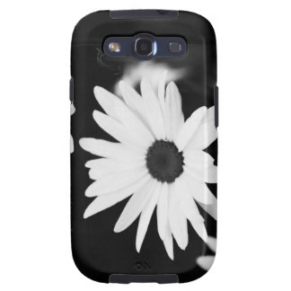 Black & White Daisy Case Galaxy S3 Covers