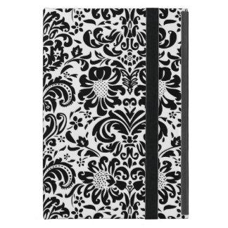 Black & White Damask iPad Case
