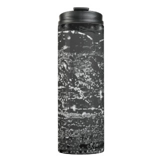 """Black & White """"Deep Space"""" Hot/Cold Drink Carrier Thermal Tumbler"""