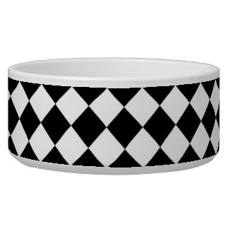 Black White Diamond Checkers