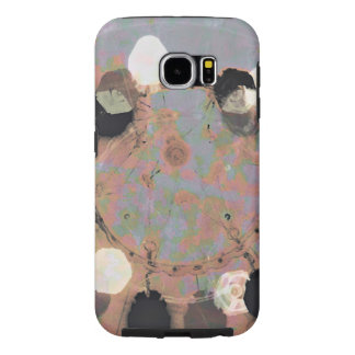 Black white dots grunge style unity digital art samsung galaxy s6 cases